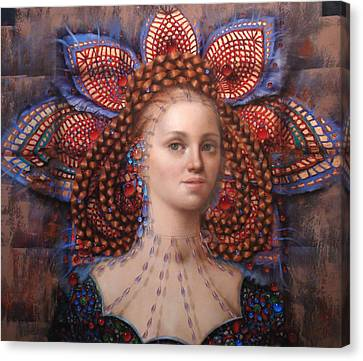 Titania 2 Canvas Print by Loretta Fasan