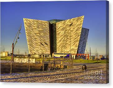 Titanic Belfast Canvas Print by Juli Scalzi