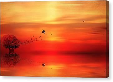 To Autumn Canvas Print by Lourry Legarde