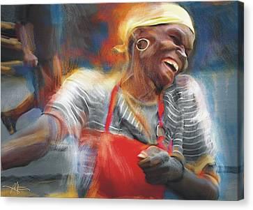 To Laugh Again Canvas Print by Bob Salo