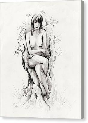 To Remain Canvas Print by Rachel Christine Nowicki