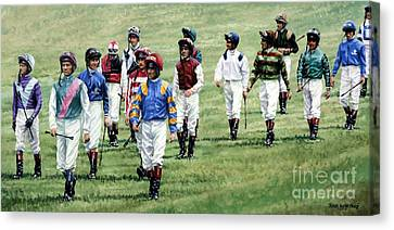To Their Mounts Canvas Print by Thomas Allen Pauly