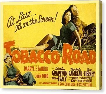 Tobacco Road, Charley Grapewin, Aka Canvas Print by Everett