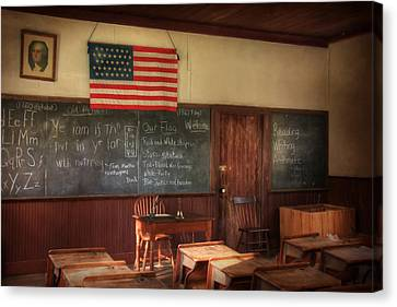 Today's Lesson Canvas Print by Lori Deiter