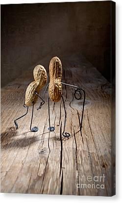 Together 05 Canvas Print by Nailia Schwarz