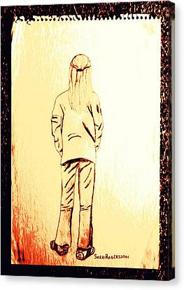 Tom Boy Canvas Print by Sheri Buchheit