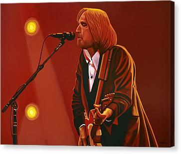 Tom Petty Canvas Print by Paul Meijering