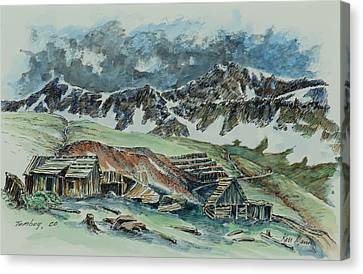 Tomboy - Colorado Mining Canvas Print by Kenneth Mann