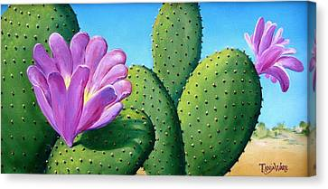 Too Close For Comfort Canvas Print by Tanja Ware