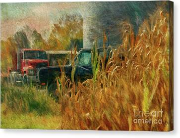 Tools Of The Trade Canvas Print by Lois Bryan