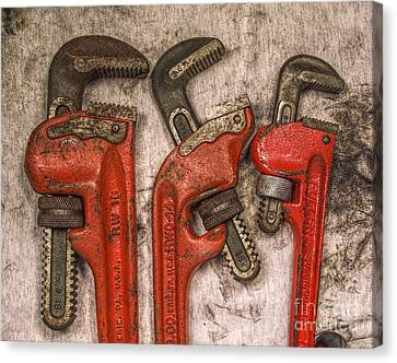 Tools Of The Trade Still Life Canvas Print by Randy Steele