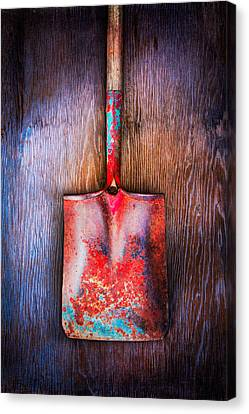 Tools On Wood 47 Canvas Print by YoPedro