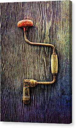 Tools On Wood 58 Canvas Print by YoPedro