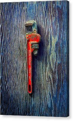 Tools On Wood 62 Canvas Print by YoPedro