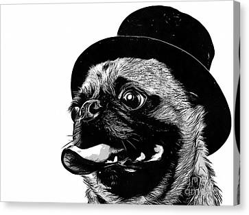 Top Dog Canvas Print by Edward Fielding