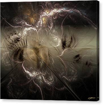 Torn Asunder Canvas Print by Casey Kotas