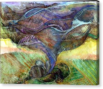 Tornado 2 Canvas Print by Jame Hayes