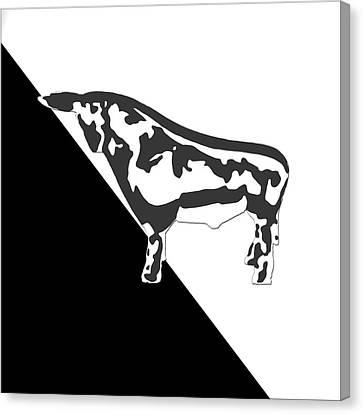 Toro Crossing Canvas Print by Slade Roberts