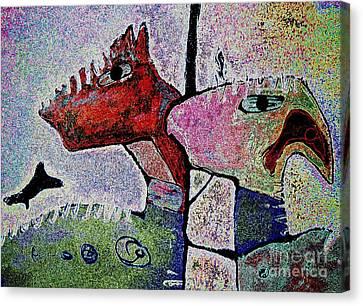 Toro Muerto 4 Canvas Print by Pamela Iris Harden