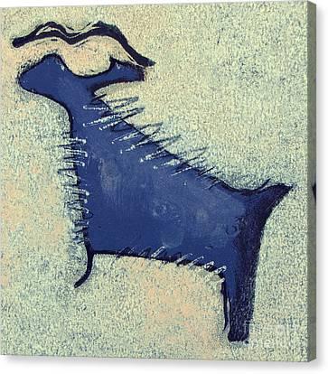 Toro Muerto I Canvas Print by Pamela Iris Harden