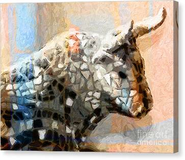 Toro Taurus Bull Canvas Print by Lutz Baar