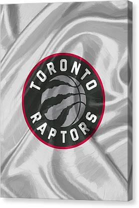 Toronto Raptors Canvas Print by Afterdarkness
