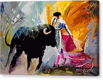 Toroscape 03 Canvas Print by Miki De Goodaboom