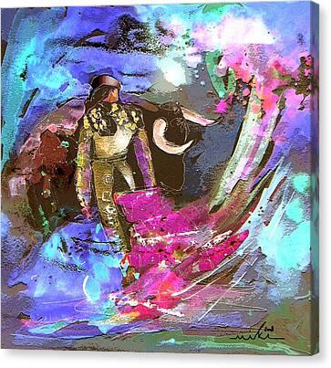 Toroscape 07 Canvas Print by Miki De Goodaboom