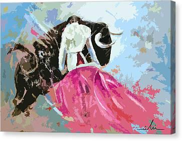 Toroscape 34 Canvas Print by Miki De Goodaboom