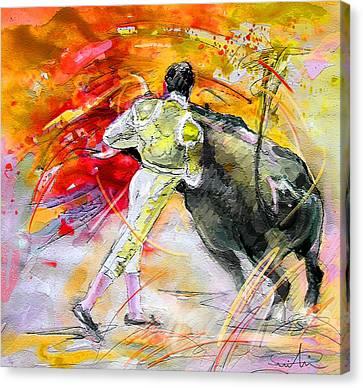 Toroscape 49 Canvas Print by Miki De Goodaboom