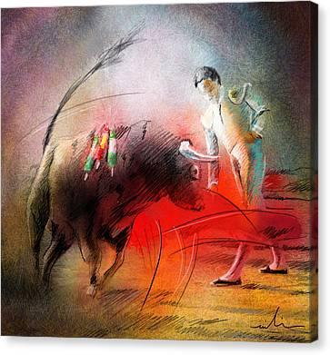 Toroscape 59 Canvas Print by Miki De Goodaboom