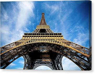 Torre Eiffel - Tour Eiffel - Eiffel Tower Canvas Print by Ruy Barbosa Pinto