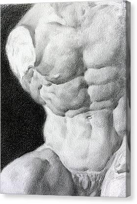 Torso 1a Canvas Print by Valeriy Mavlo