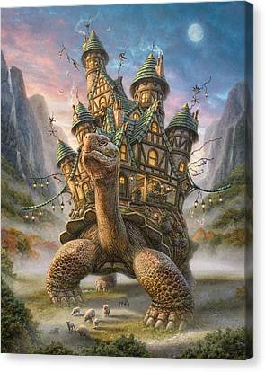Tortoise House Canvas Print by Phil Jaeger