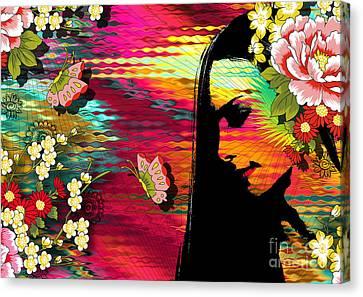 Totality Canvas Print by Ramneek Narang