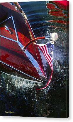 Touch Of Class - Lake Geneva Wisconsin Canvas Print by Bruce Thompson