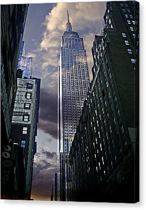 Touch The Sky Canvas Print by Joachim G Pinkawa