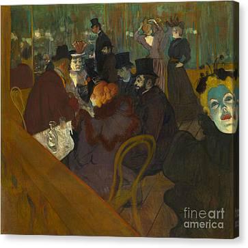 Toulouse-lautrec Moulin Rouge Canvas Print by Granger