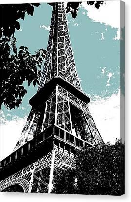 Tour Eiffel Canvas Print by Juergen Weiss