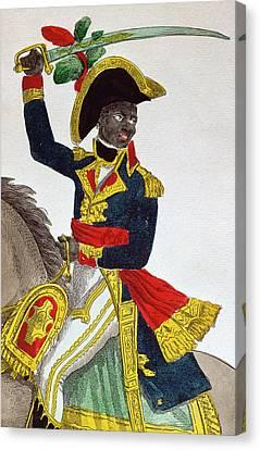 Toussaint Louverture Canvas Print by French School