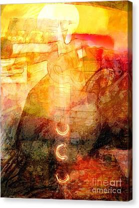Towards The Light Canvas Print by Lutz Baar