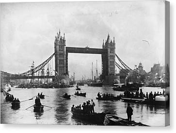 Tower Bridge Canvas Print by Francis Frith & Co