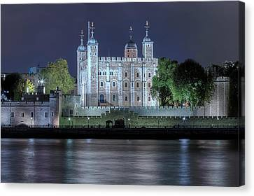 Tower Of London Canvas Print by Joana Kruse