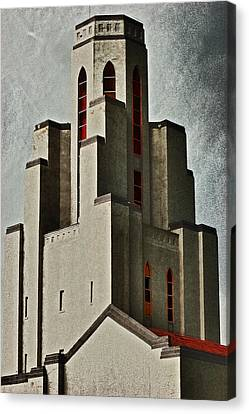 Tower Of Memories Canvas Print by Kevin Munro