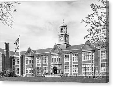Towson University Stephens Hall Canvas Print by University Icons