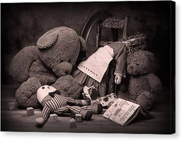 Toys Canvas Print by Tom Mc Nemar
