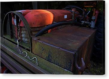 Tractor Canvas Print by Jerry LoFaro