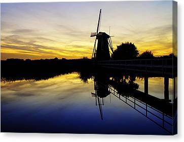 Traditional Dutch Canvas Print by Chad Dutson