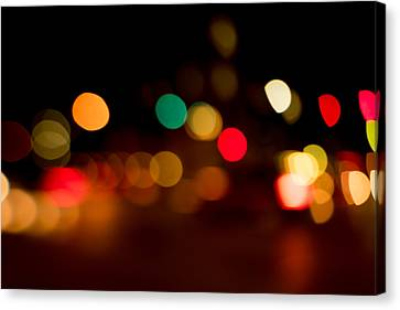 Traffic Lights Number 11 Canvas Print by Steve Gadomski