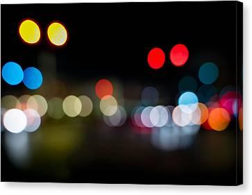 Traffic Lights Number 14 Canvas Print by Steve Gadomski